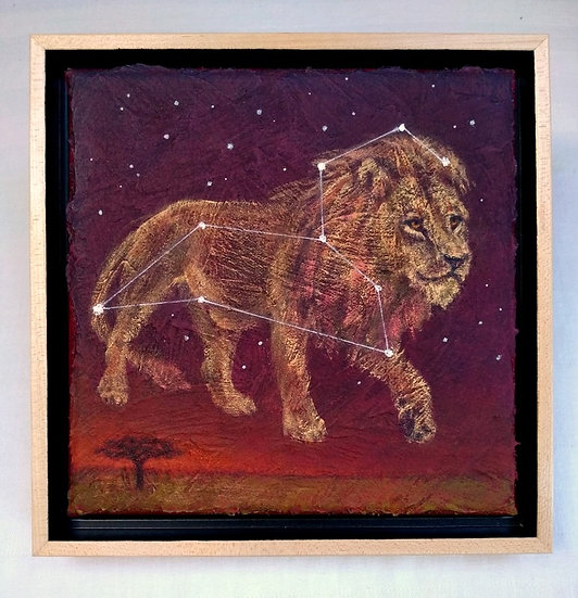 "Constellation Leo 9""x 9"""