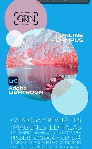 LIGHTROOM  de Adobe. Cursada Individual