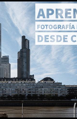 Curso de Fotografía Digital INICIAL