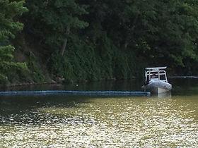 harbour spill oakville, ontario, canada, mississauga