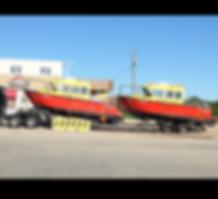 coast guard boats transportation, B.C. to Ontario