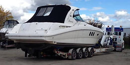 Sea Ray Boats, boat transport, sailboat transport, ontario, oakville