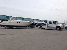 Freightliner, Sea Ray, Boat Transport, Oakville, Niagara Falls, Stoney Creek, Mississauga, Ontaio