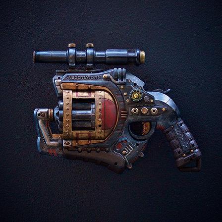"Custom Nerf Gun ""The Negotiator"""