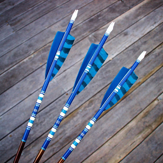 Crested Arrows - Set of 3