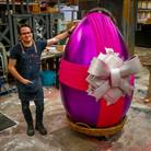 Pete WIth Polystyrene Easter Egg II.jpg