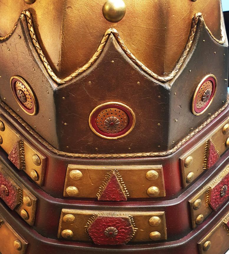 Halcyon Kabuto rear detail