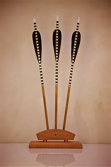 Crested Arrow Trio Black / White