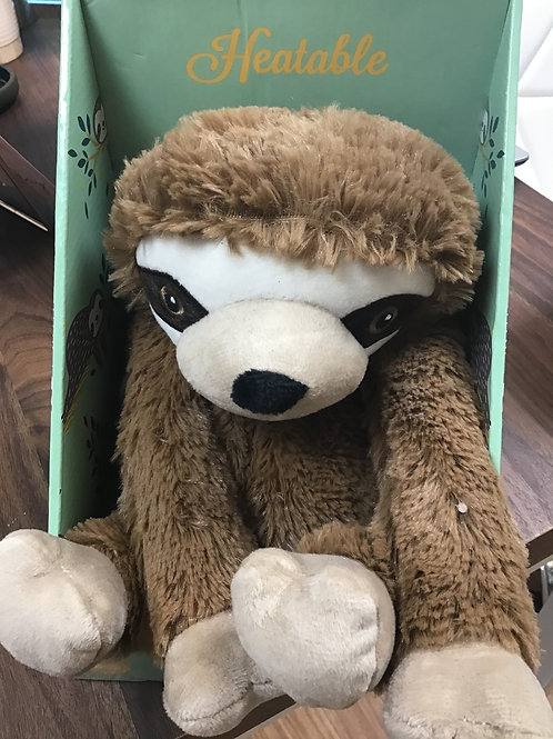 Gorgeous warmies plush microwave sloth