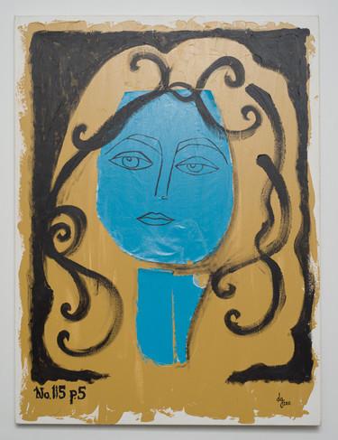 Francoise Gilot 115/15, 2010.