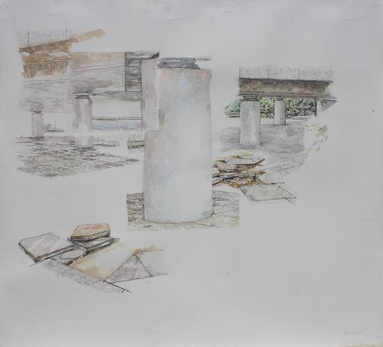 Nicola Saunderson_Cut Through_ 99.9 x 89