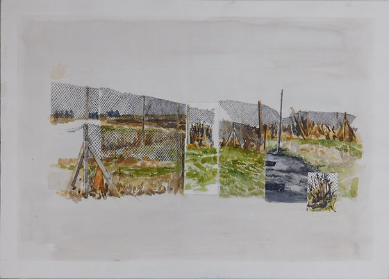 Nicola Saunderson V6 Fence
