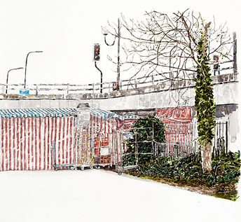7.This is not a Toilet 2_Watercolour on