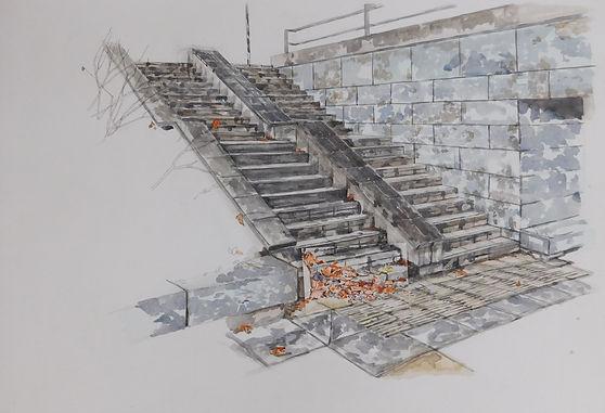 Nicola Saunderson Stairwell