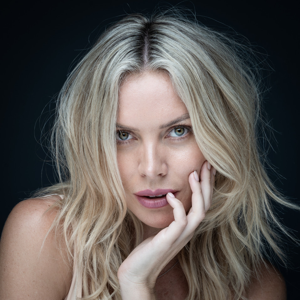 Flare Images close up portrait