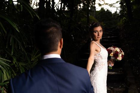 Brisbane Botanical Gardens wedding photography