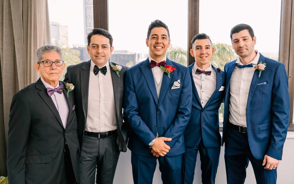 Groom wedding pictures