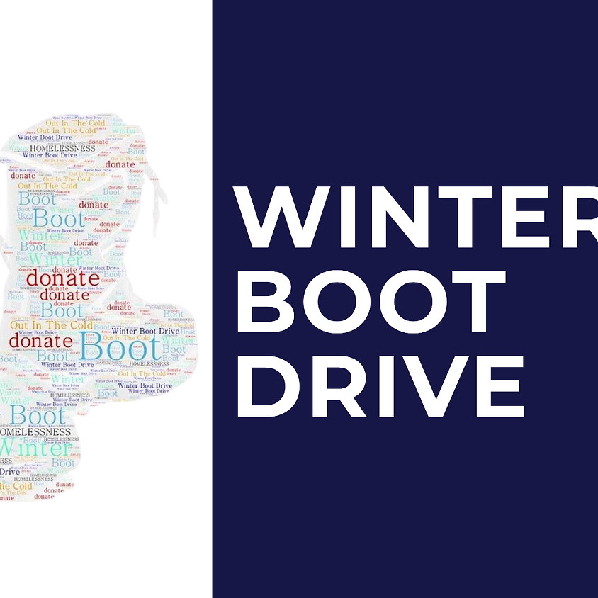 3rd Annual Winter Boot Drive