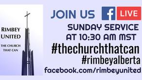 Sunday Service FB Live  2020-10-11