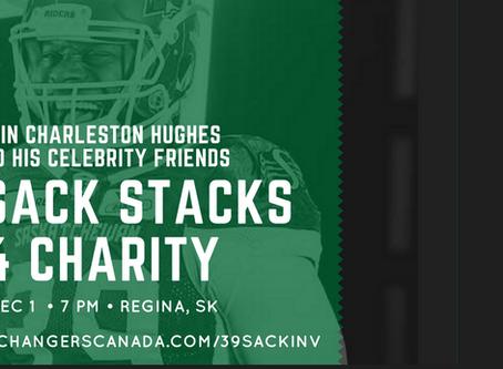 YWCA Regina Official Charity for Charleston Hughes 39-Sack Stacks 4 Charity Invitational