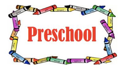 Final Preschool Registration