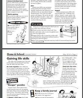 Home and School- May 2018