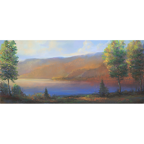 """At Peace on the Columbia"" Limited Edition Print"