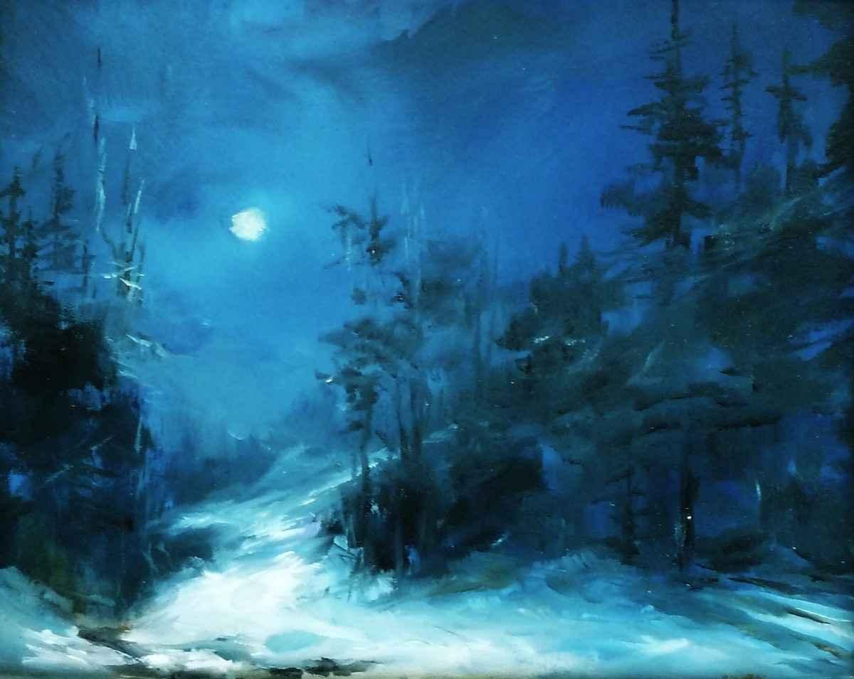 Woodland Midnight