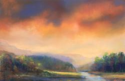 Sunbreak on the Rivers Edge