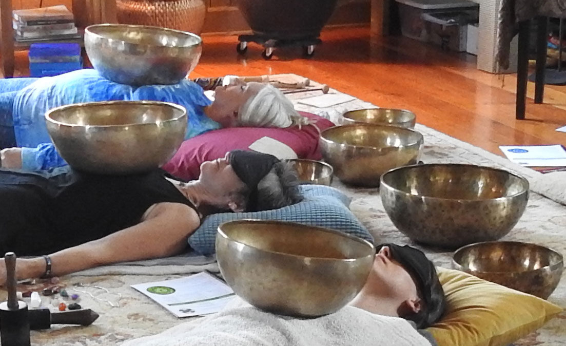 Group sound bath meditations