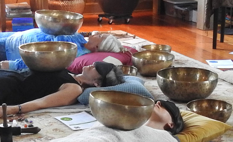 Group sound bath meditations