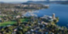 Aerial View Sandy Bay-Hobart Tasmania.pn