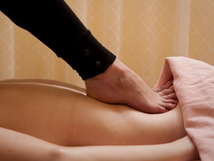 90 minute Ashiatsu (barefoot) massage