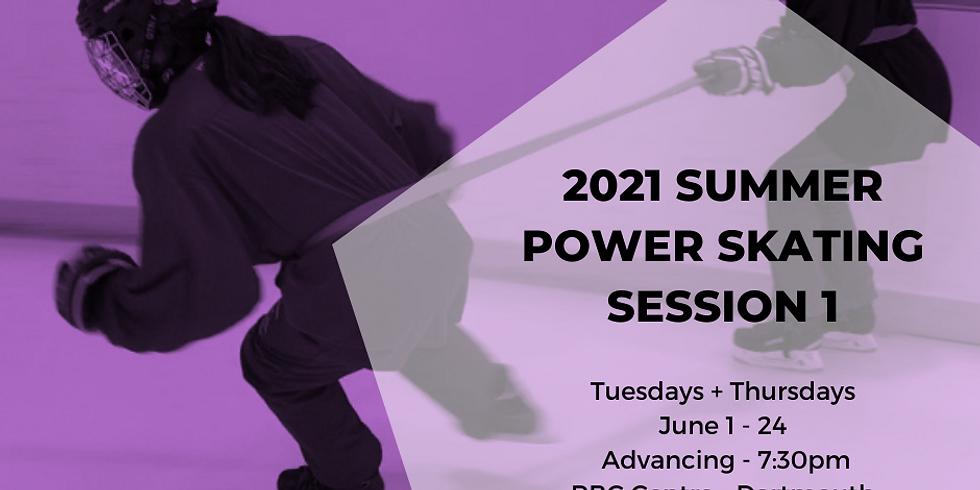 Power Skating - Advancing - Session 1