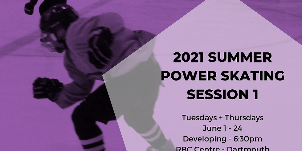 Power Skating - Developing - Session 1