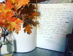 A special notes in our guestbook
