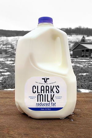 Clark's milk reduced fat