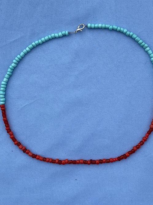 Horizontal Half Necklace