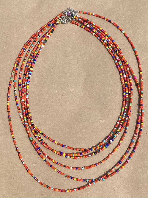 Micro Bead Necklace Combo