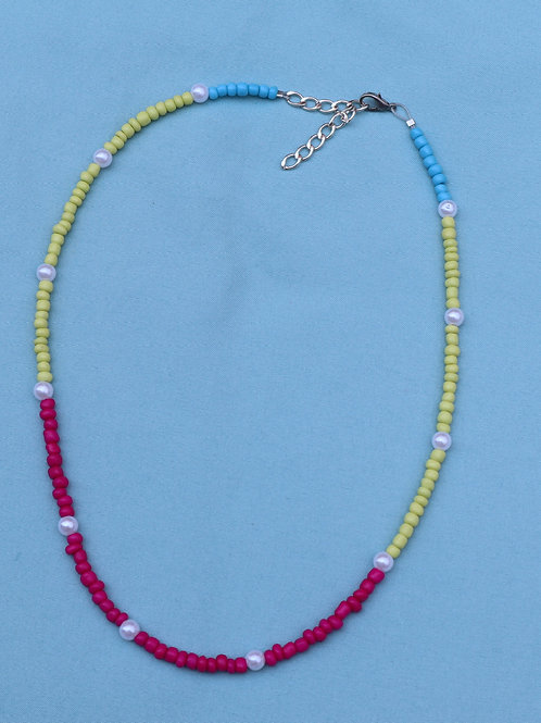 Block Color Necklace