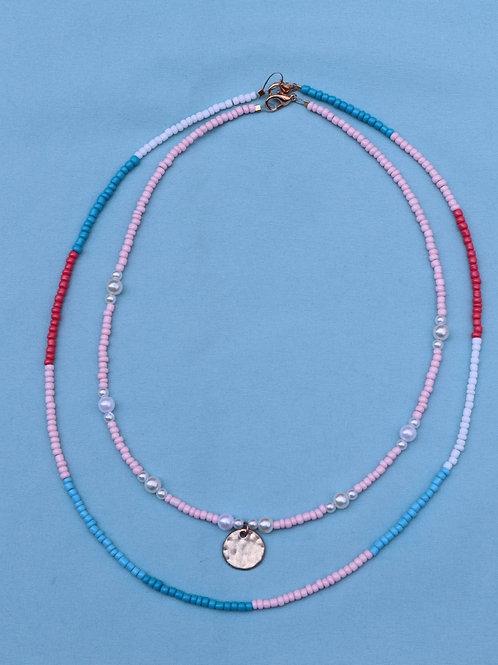 Dainty Necklace Set