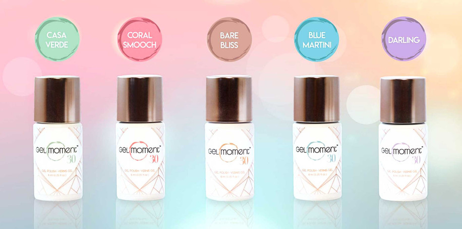 New Packaging design: Stécie April Client : Gelmoment - Multi-level marketing company selling gel polish & accessories