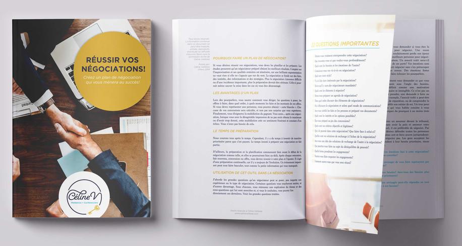 Ebook Design: StécieApril Direction Artistique: Anaelle T. Brouard Client: Céline vallière - Médiatrice, formatrice et conférencière