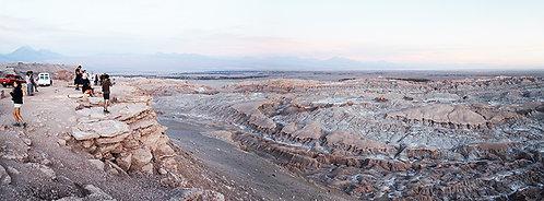 O Vale da Lua, no Deserto do Atacama,extremo norte do Chile com suas formações tão únicas e fascinantes aos olhos.