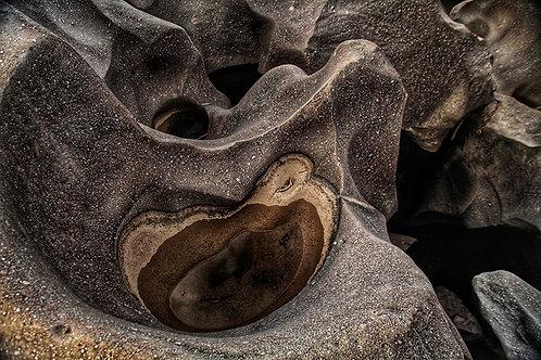 Formações rochosas únicas do Vale da Lua na Chapada dos Veadeiros.