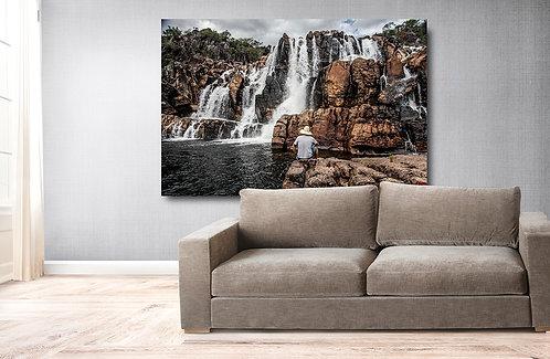 A Catarata dos Couros está localizada na Fazenda Boa Esperança e possuí uma sequência de quatro lindas quedas.