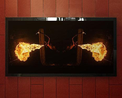 o fogo... um elemento natural, amorfo e com a incrível e sedutora capacidade de gerar luz própria...