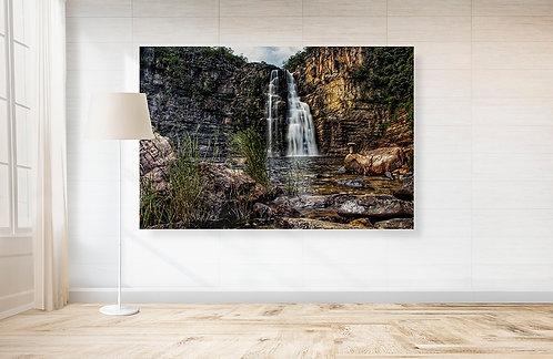 Com 80 e 120 metros de quedas d'água, respectivamente, as cachoeiras do Rio Preto I e II são as atrações marcantes da Chapada