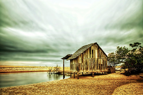 Casa de pescadores em Trancoso, no sul da Bahia