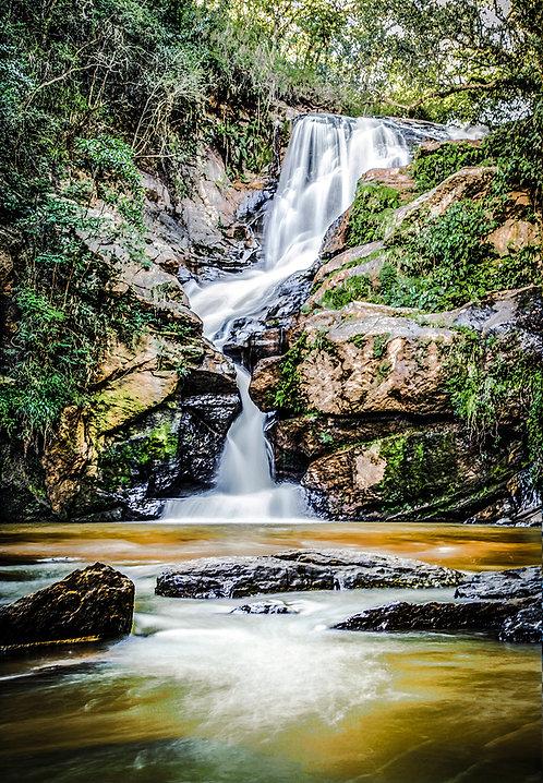 Cachoeira Véu de noiva, em São Thomé das Letras
